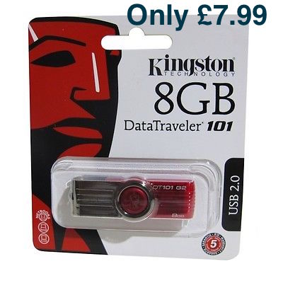 eBay Shop Kingston 8GB Flashdrive