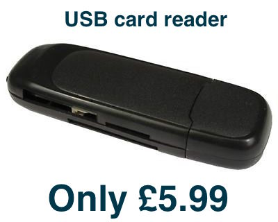 eBay shop for USB Card reader by fmssltd